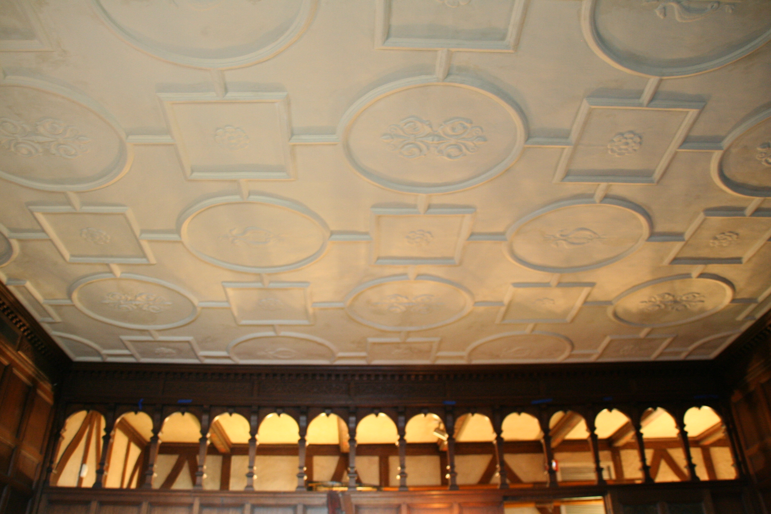 Plaster Ceiling Design : There s no place like the herm for holidays